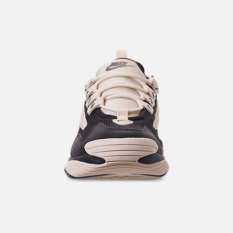 Front view of Women's Nike Zoom 2K Casual Shoes in Oil Grey/Light Cream