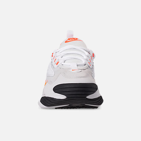 17afbf436 Front view of Women s Nike Zoom 2K Casual Shoes in Platinum Tint Hyper  Crimson