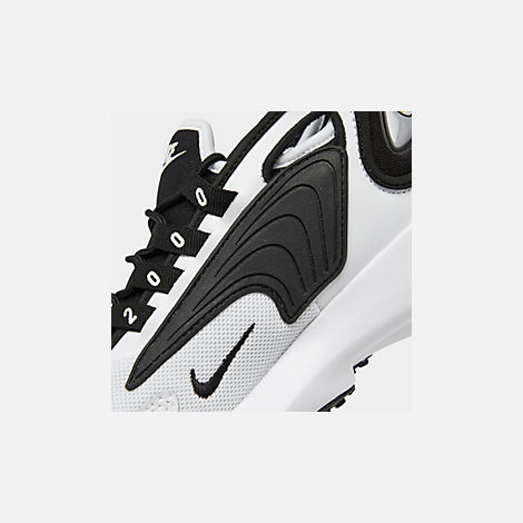 quality design a8d7e d9577 Front view of Women s Nike Zoom 2K Casual Shoes in White Black