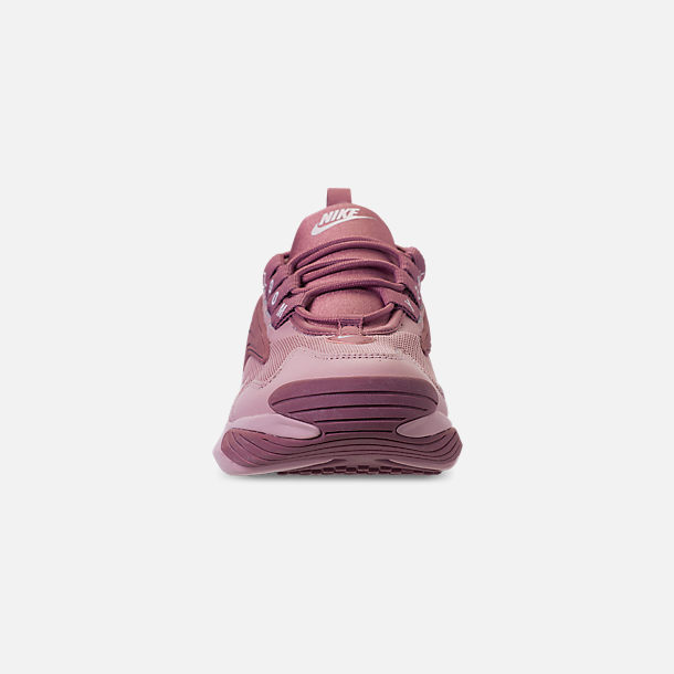 Front view of Women's Nike Zoom 2K Casual Shoes in Plum Dust/Pale Pink/Plum Chalk