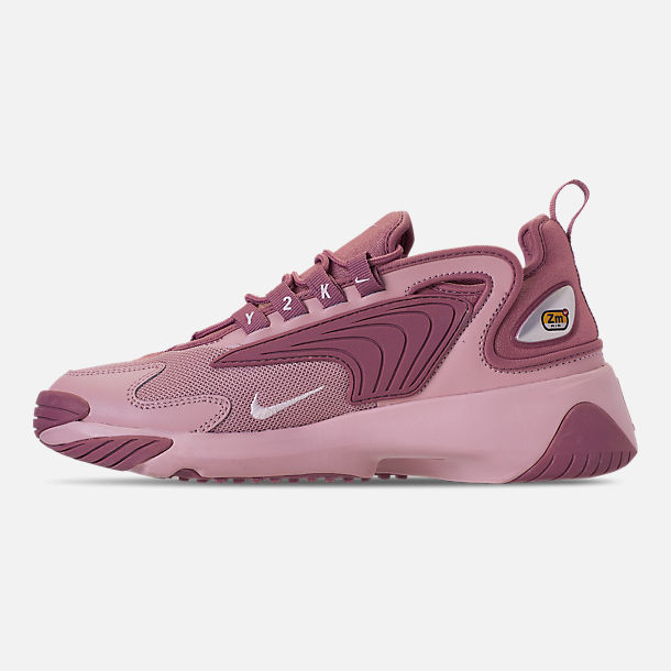 Left view of Women's Nike Zoom 2K Casual Shoes in Plum Dust/Pale Pink/Plum Chalk
