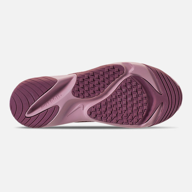 Bottom view of Women's Nike Zoom 2K Casual Shoes in Plum Dust/Pale Pink/Plum Chalk