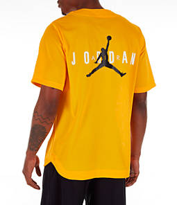 Men's Jordan Jumpman Mesh Button-Up Jersey