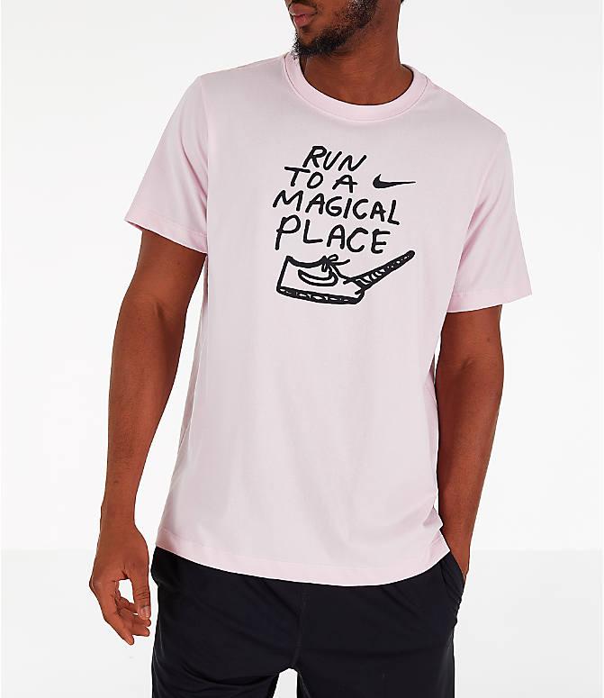 321f6da03d6da Detail 2 view of Men's Nike Dri-FIT Nathan Bell Running T-Shirt in