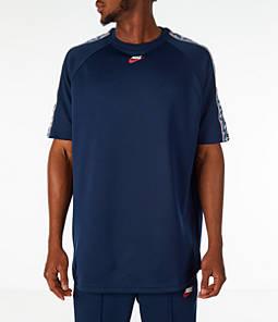 Men's Nike Sportswear Taped Short-Sleeve Shirt