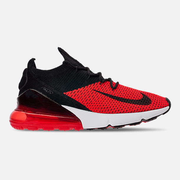 the best attitude 7ecc8 a48d0 Right view of Men s Nike Air Max 270 Flyknit Casual Shoes in Chile Red Black