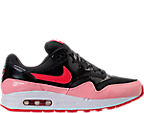 Girls' Grade School Nike Air Max 1 Heart Casual Shoes