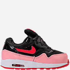 Girls' Toddler Nike Air Max 1 Heart Casual Shoes