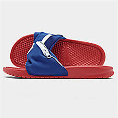 Men's Nike Benassi JDI Fanny Pack Slide Sandals