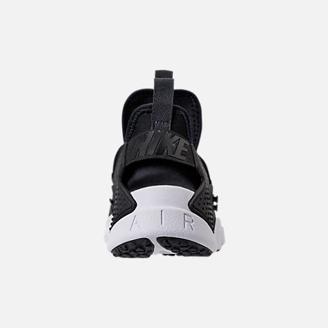 Back view of Men's Nike Air Huarache Drift Breeze Casual Shoes in Black/Anthracite/White