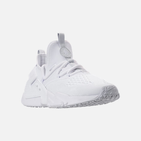 Three Quarter view of Men's Nike Air Huarache Drift Breeze Casual Shoes