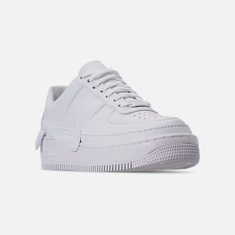 Three Quarter view of Women's Nike AF1 Jester XX Casual Shoes in White