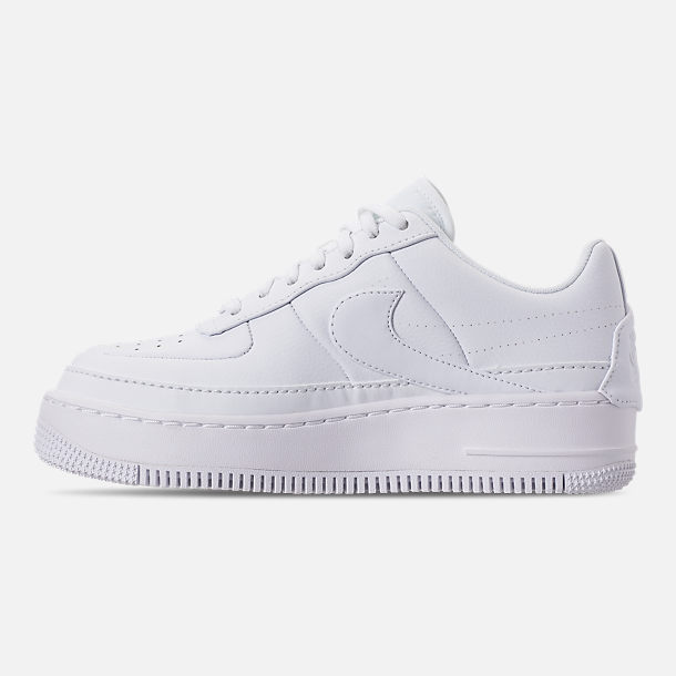 Left view of Women's Nike AF1 Jester XX Casual Shoes in White