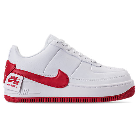 Jordan WOMEN'S AIR FORCE 1 JESTER XX CASUAL SHOES, RED - SIZE 11.0