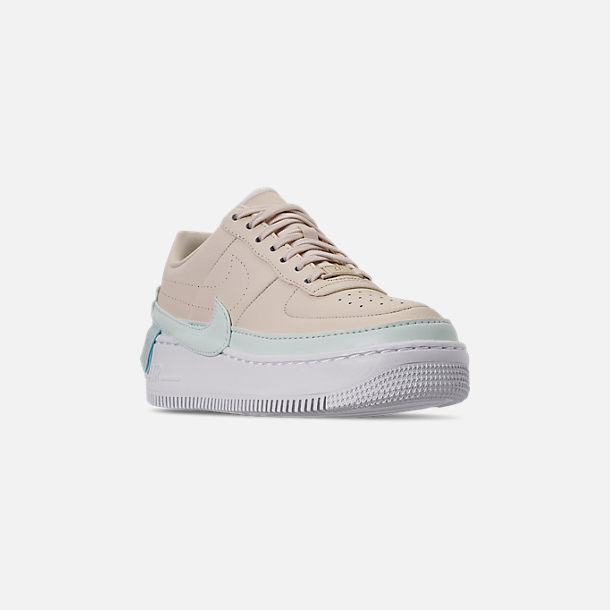 the best attitude e1e4e c8d6a Three Quarter view of Women s Nike AF1 Jester XX Casual Shoes in Light  Cream Ghost