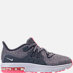 Girls' Preschool Nike Air Max Sequent 3 Running Shoes