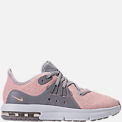 Girls' Little Kids' Nike Air Max Sequent 3 Running Shoes
