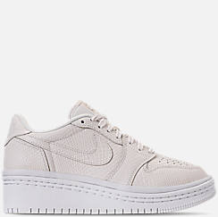 Women's Air Jordan Retro 1 Low Lifted Casual Shoes