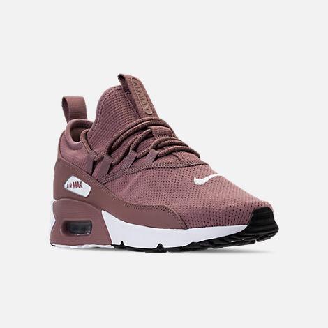 cfc0ec9ffd9b4 Three Quarter view of Women s Nike Air Max 90 Ultra 2.0 Ease Casual Shoes  in Smokey