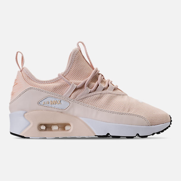 Right view of Women s Nike Air Max 90 Ultra 2.0 Ease Casual Shoes in Guava  Ice 61c76c8c478d