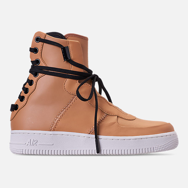 dd83dfba402 Right view of Women's Nike Air Force 1 Rebel XX Casual Shoes in  Praline/Black