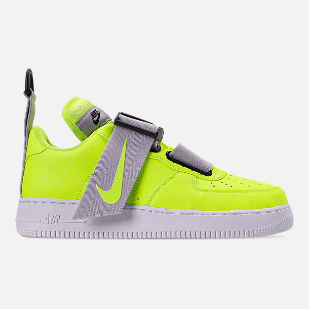 best website 6d906 b50fe Right view of Men s Nike Air Force 1 Utility Casual Shoes in Volt White