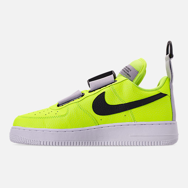 best service 400d1 acdd1 Left view of Men s Nike Air Force 1 Utility Casual Shoes in Volt White