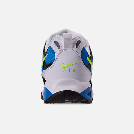 Back view of Men's Nike Air Terra Humara '18 Casual Shoes in White/Volt/Photo Blue/Black/Wolf Grey