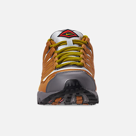 Front view of Men's Nike Air Terra Humara '18 Casual Shoes in Desert Ochre/Dark Citron/Barely Grey