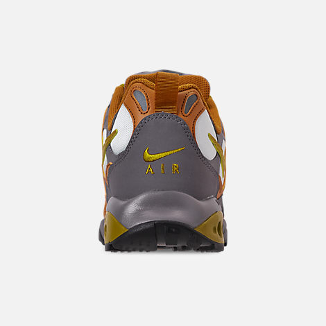 Back view of Men's Nike Air Terra Humara '18 Casual Shoes in Desert Ochre/Dark Citron/Barely Grey