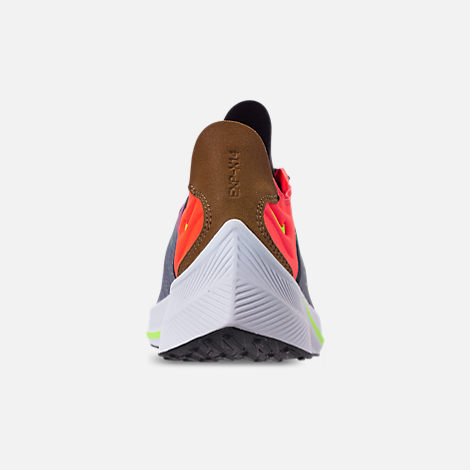 Back view of Men's Nike EXP-X14 Casual Shoes in Black/Volt/Total Crimson/Dark Grey