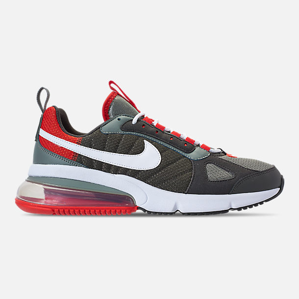 Right view of Men's Nike Air Max 270 Futura Casual Shoes in Dark Stucco/White/Newsprint
