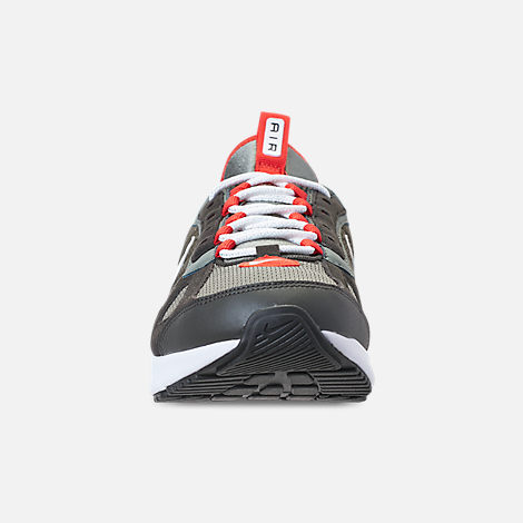 Front view of Men's Nike Air Max 270 Futura Casual Shoes in Dark Stucco/White/Newsprint