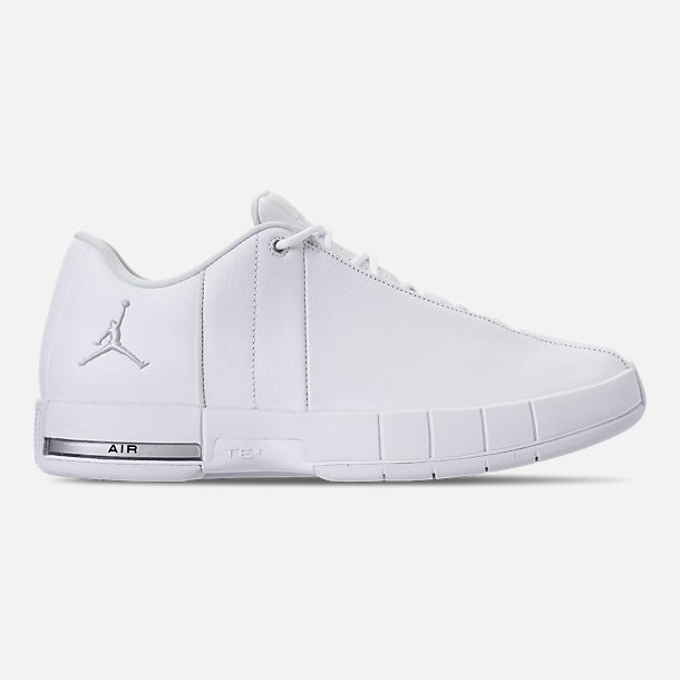 Right view of Men s Air Jordan Team Elite 2 Low Basketball Shoes in White  Pure 7cf9f6d9a