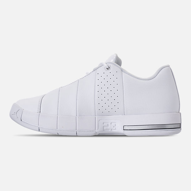 285f19868025 Left view of Men s Air Jordan Team Elite 2 Low Basketball Shoes in  White Pure