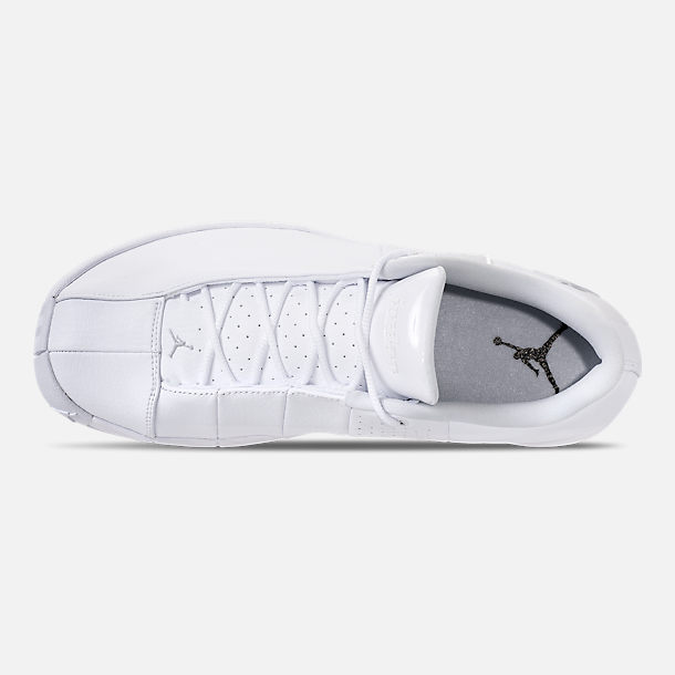 ca46c7ce978d61 Top view of Men s Air Jordan Team Elite 2 Low Basketball Shoes in White Pure