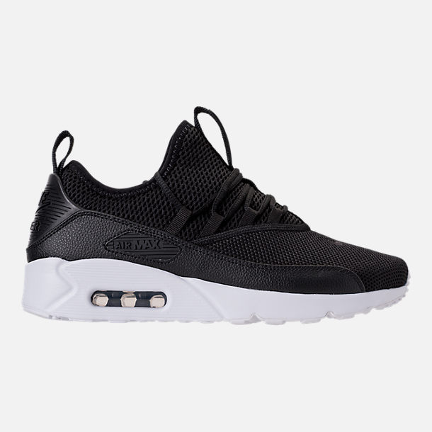 size 40 eecf5 b7d38 Right view of Men's Nike Air Max 90 EZ Casual Shoes in Black/Black/