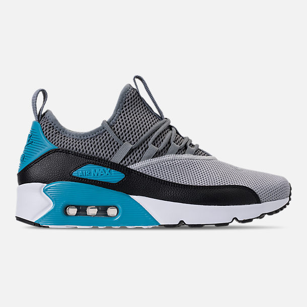 Right view of Men's Nike Air Max 90 EZ Casual Shoes in Wolf Grey/Cool Grey/Black