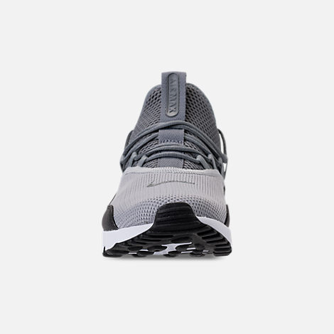 Front view of Men's Nike Air Max 90 EZ Casual Shoes in Wolf Grey/Cool Grey/Black