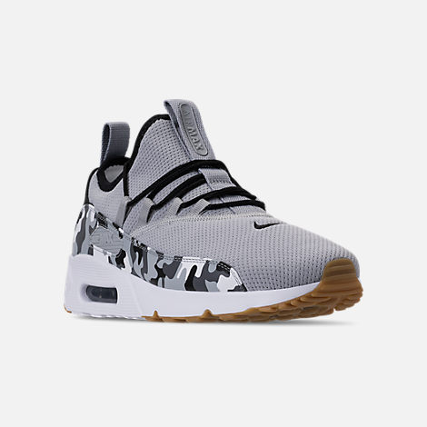 Three Quarter view of Men s Nike Air Max 90 EZ Casual Shoes in Wolf Grey  2ce4f1d9b