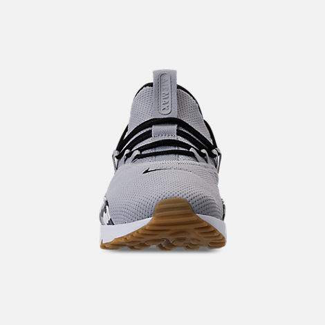 Front view of Men s Nike Air Max 90 EZ Casual Shoes in Wolf Grey Black 3c230e7db