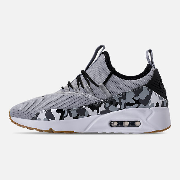 Left view of Men s Nike Air Max 90 EZ Casual Shoes in Wolf Grey Black 8dad32a17