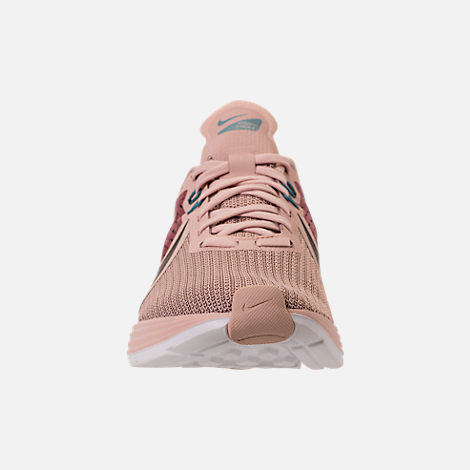 107e3539499630 Front view of Women s Nike Zoom Strike 2 Running Shoes in Mink  Brown Particle Beige