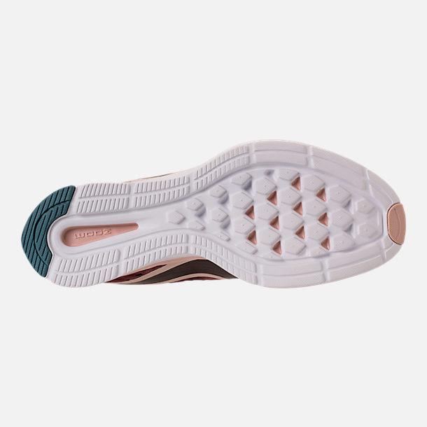 c5c172b286113d Bottom view of Women s Nike Zoom Strike 2 Running Shoes in Mink  Brown Particle Beige