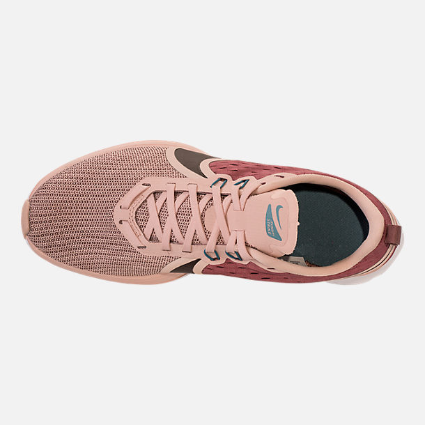 9a3584b5e93 Top view of Women s Nike Zoom Strike 2 Running Shoes in Mink Brown Particle  Beige