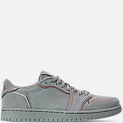 Women's Air Jordan Retro 1 Low No Swoosh Casual Shoes