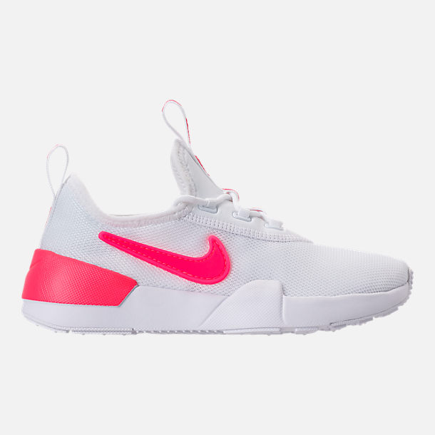 Right view of Girls' Preschool Nike Ashin Modern SE Casual Shoes in White/Racer Pink/Rush Pink