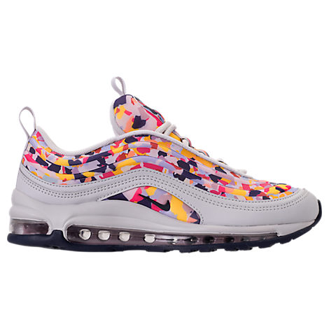 Women'S Air Max 97 Ultra 2017 Premium Casual Shoes, Pink, Vast Grey/ Obsidian/ Rose