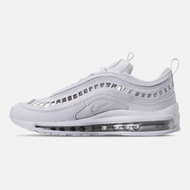 Left view of Women s Nike Air Max 97 Ultra  17 SI Casual Shoes in White 167c90122e9a
