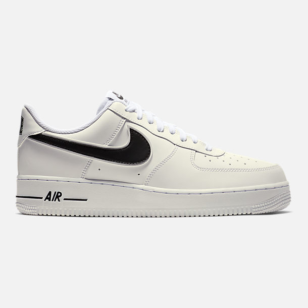 898fc25d0 Right view of Men's Nike Air Force 1 '07 3 Casual Shoes in White/